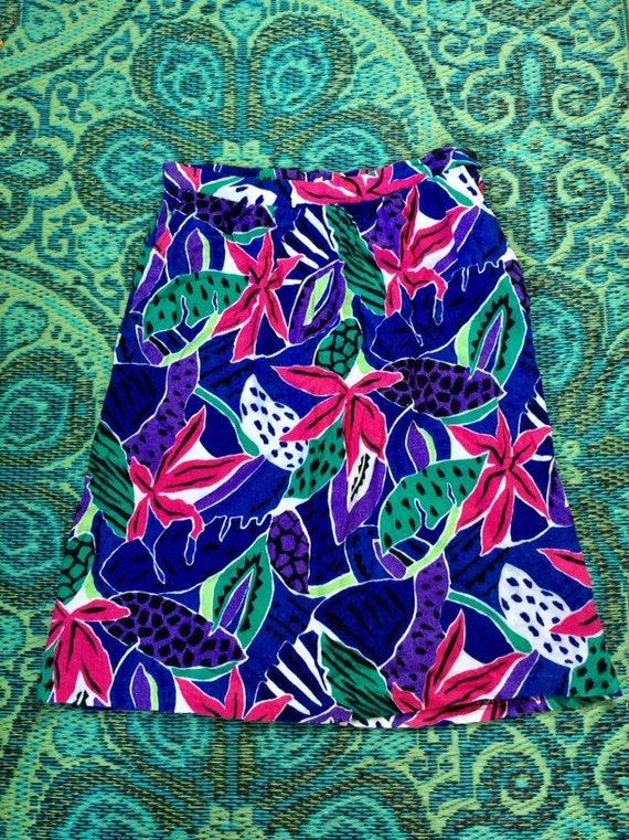 Vintage Tropical Skirt