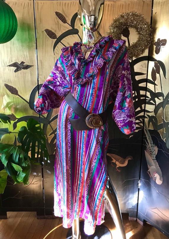 Vintage Diane Freis Caftan Dress