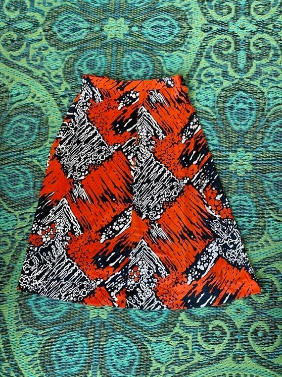 Vintage 60s A-line Skirt