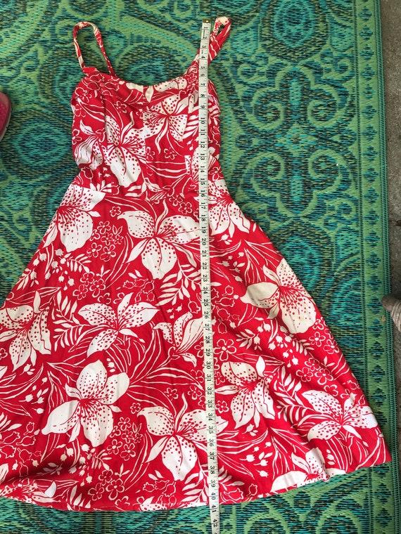 Vintage 1950s Hawaiian Dress - image 3