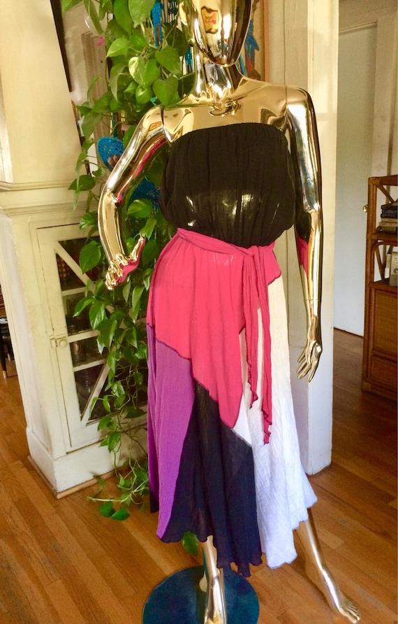 Vintage Gauze summer Dress