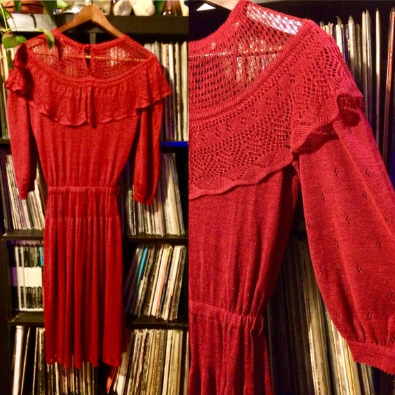 Vintage Italian knit dress