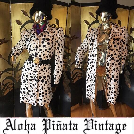 Vintage Coat Dress by Luis Estévez