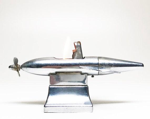 1950s Occupied Japan Torpedo Lighter