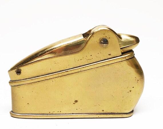 1950s Love-Liter Bird Shaped Brass Lighter