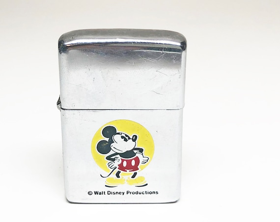 1979 Mickey Mouse Zippo Lighter