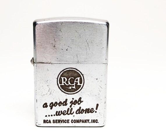 1950s RCA Advertising Zippo Lighter