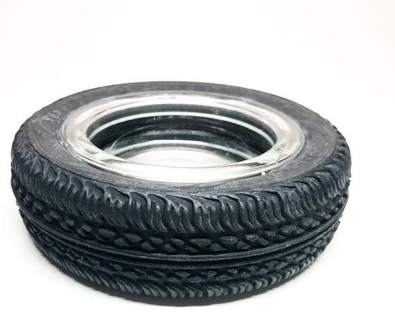 1970s Vintage Tire Ashtray