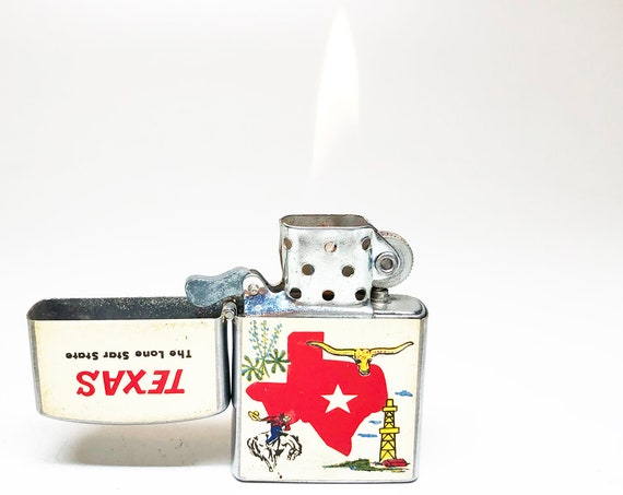1950s Six Flags Over Texas Lighter