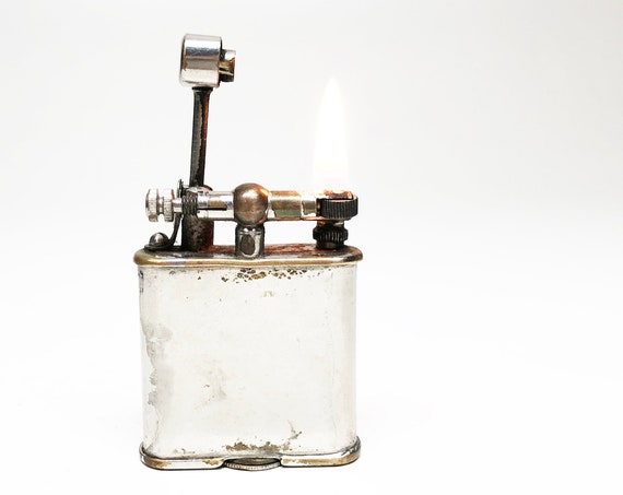 LIFT ARM LIGHTER - Working 1950s Small Brothers German 1940s Lighter