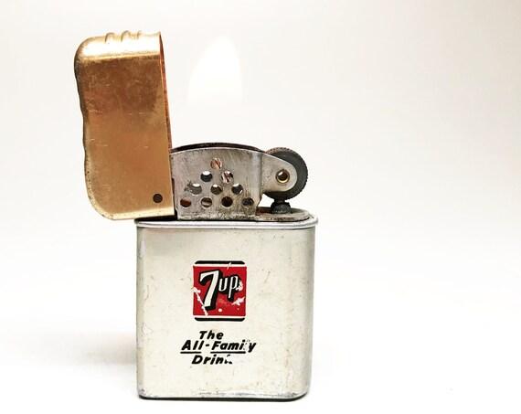 7UP Soda Advertising 1960s Lighter