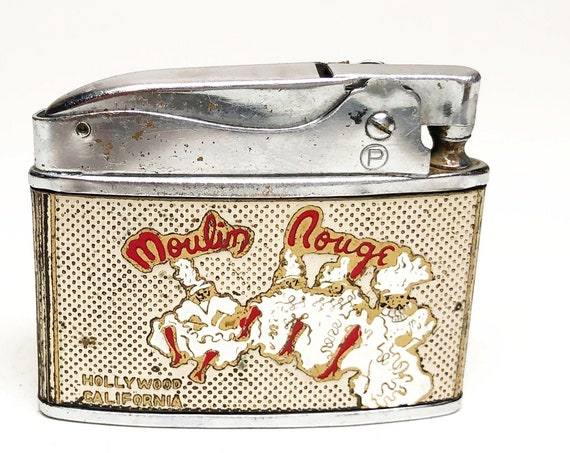 1950s Moulin Rouge Hollywood Nightclub Lighter