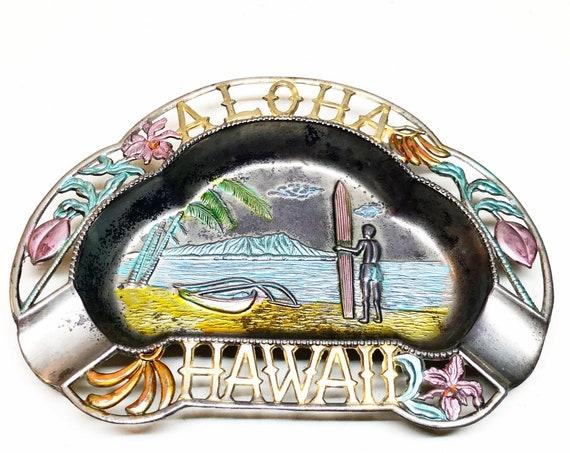 1950s Hawaii Surfing Ashtray