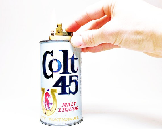 Colt 45 1950s Beer Can Lighter