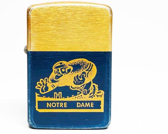 1950s Notre Dame Fighting Irish College Football Lighter