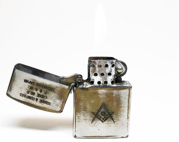 1950s Japanese Masonic Lodge Lighter