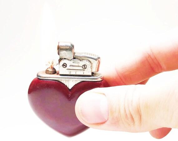 Rare Bakelite Heart Lighter