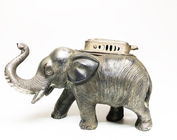 1950s Occupied Japan Elephant Lighter