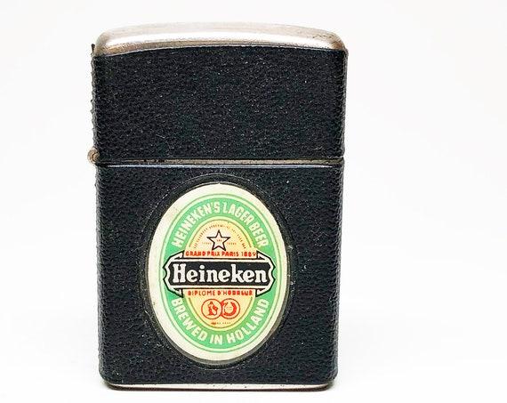 Vintage Heineken Beer Lighter