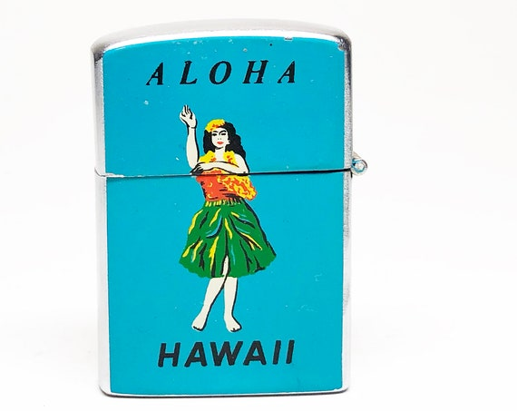 1950s Aloha Hawaii Hula Girl Lighter