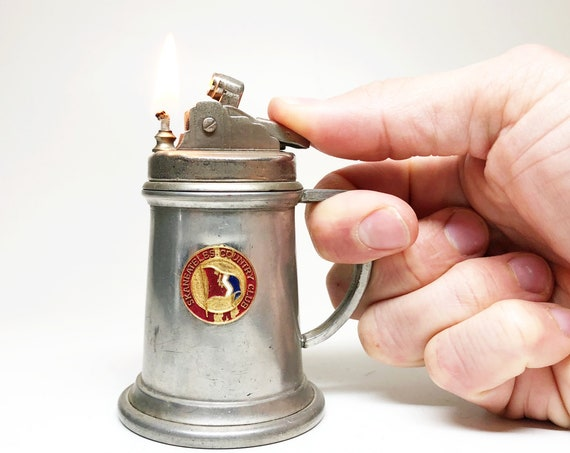 1950s Beer Stein Shaped Lighter
