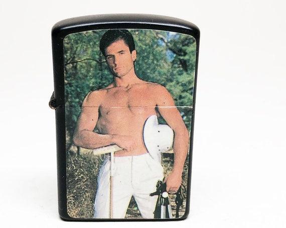 1980s Beefcake Dude Lighter