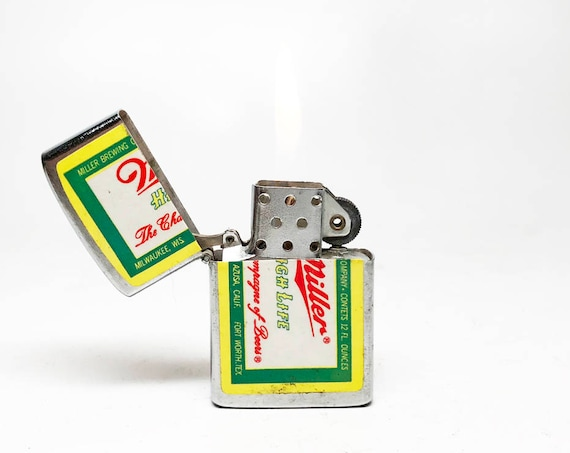 Vintage Miller Hi Life Lighter