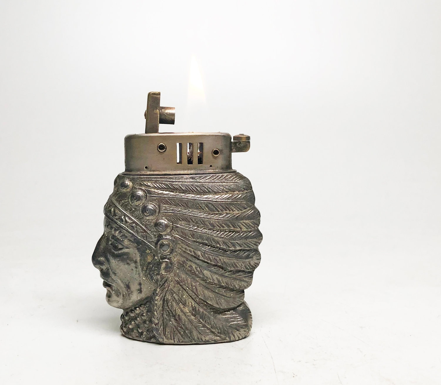 Www American Electric Lighting: Antique Native American Lighter