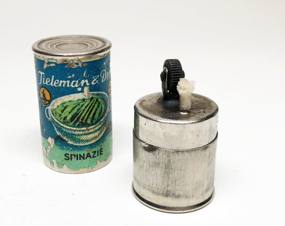 1930s Canned Spinach Dutch Advertising Lighter