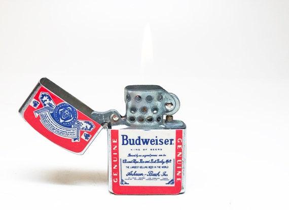 Vintage Budweiser Beer Lighter