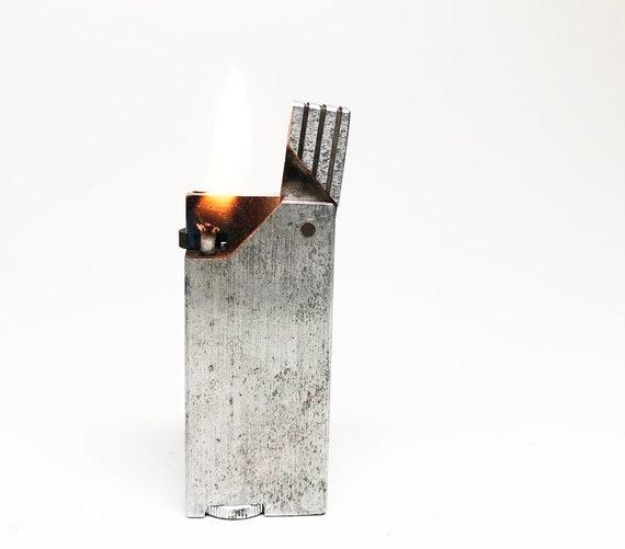 1940s Aluminum Block Lighter