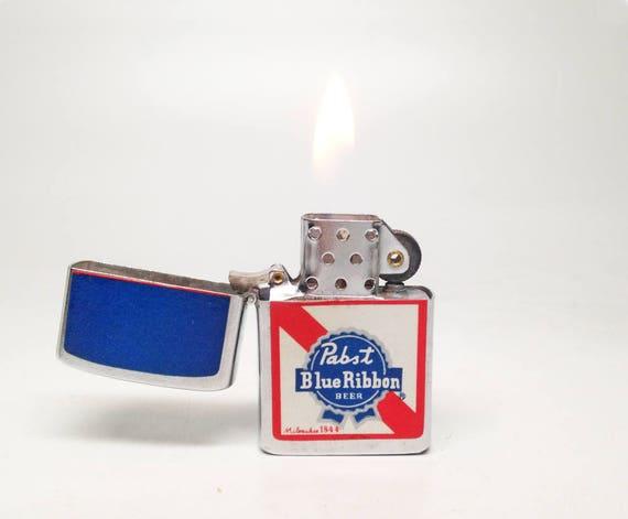 Vintage Pabst Blue Ribbon Lighter