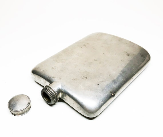 James Dixon and Sons 4 Ounce Victorian Hip Flask