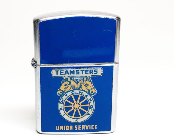 1960s Teamsters Union Service Double Sided Lighter