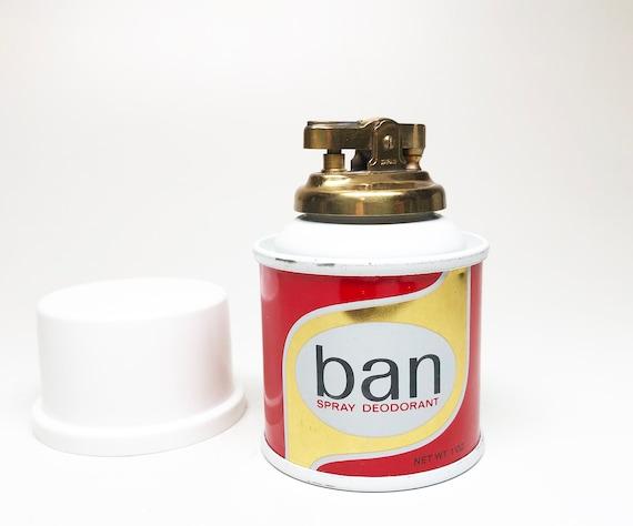 1970s Ban Deodorant Figural Lighter