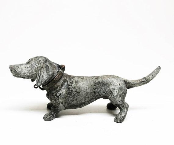 Antique Dachshund Dog Lighter