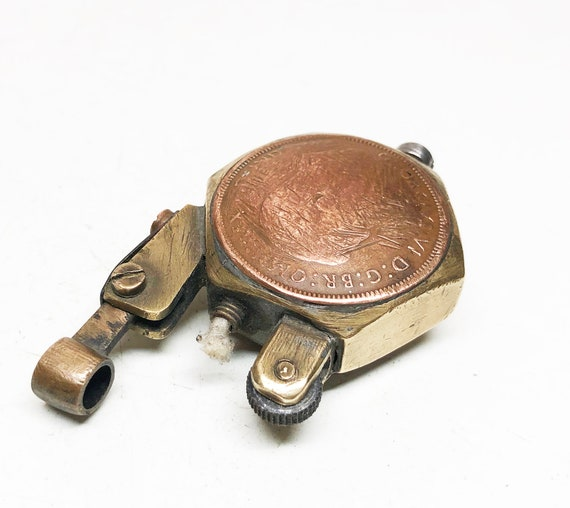 WWI English Trench Art Lift Arm Lighter