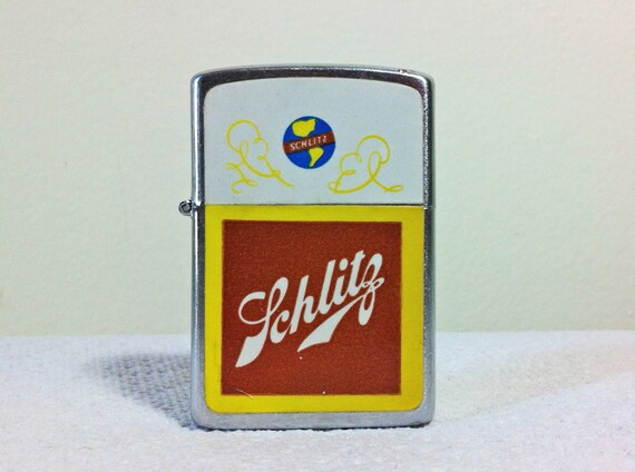 Vintage Schlitz Beer Lighter