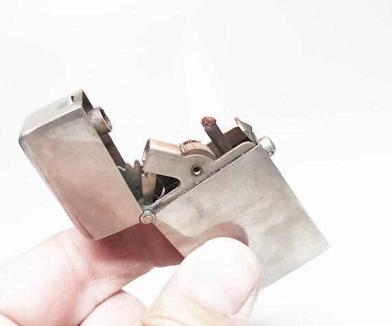 Working 1910 Gesch Push Button Semi-Automatic Lighter