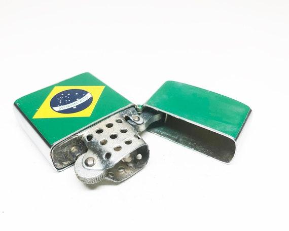 1950s Brazil Flag Lighter