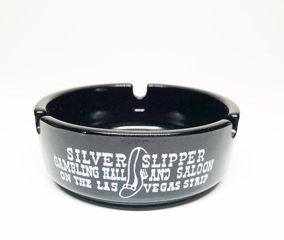 Silver Slipper Ashtray