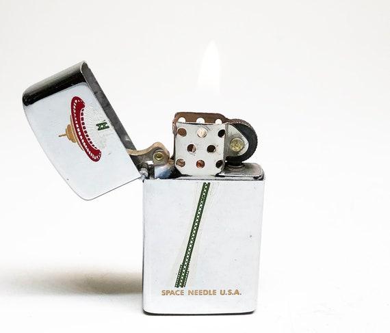1972 Seattle Space Needle Zippo Slim Lighter