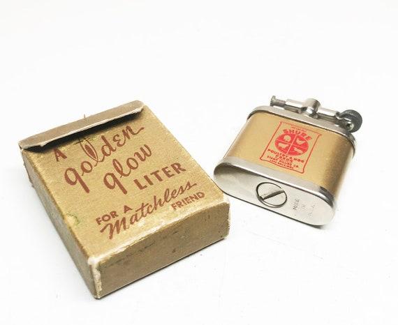 1940s Golden Glow Lighter in Original Box