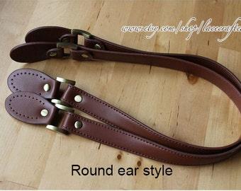 1 pair 62x2cm PU leather purse handles 4465f2a7001ed