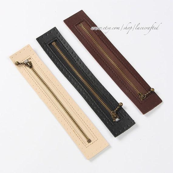 2 Stück Leder Armband Handtasche Strap Ersatz für Kupplung Geldbörse