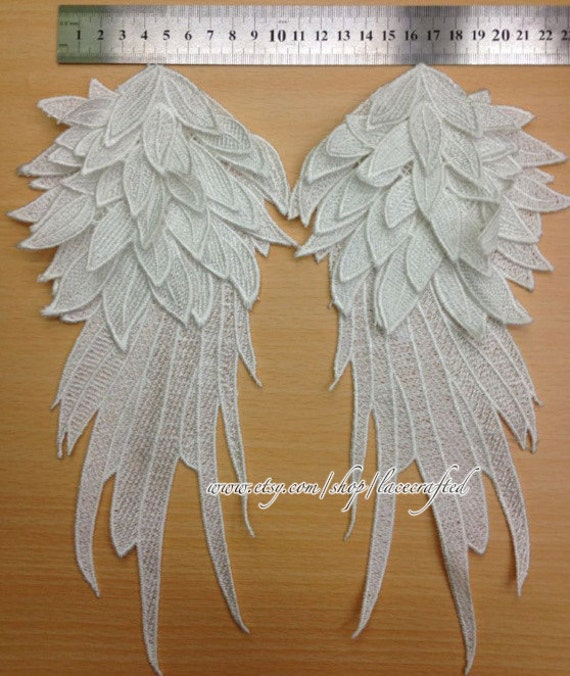 SHABBY /& CHIC ANGEL WINGS *FURNITURE APPLIQUES WHOLESALE$$ CRAFTS 4 PCS