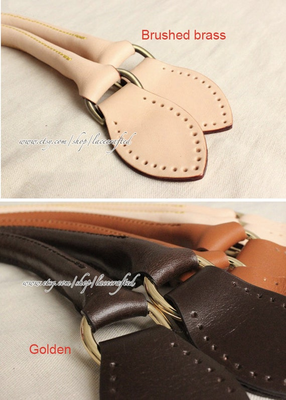 d2b448cde57 1 pair Genuine Leather bag handle Louis Vuitton Replacement   Etsy