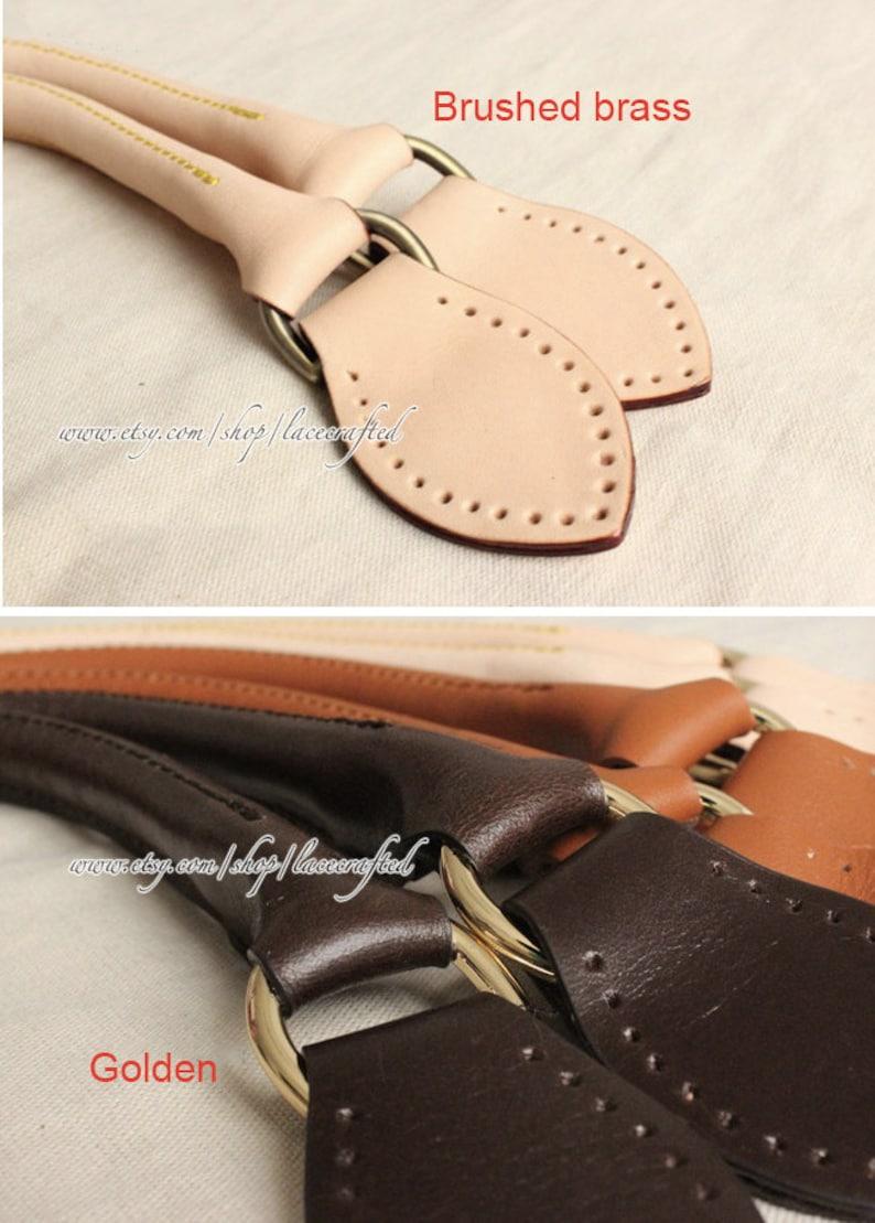 1 pair Genuine Leather bag handle Louis Vuitton Replacement  6e530e387f9bd