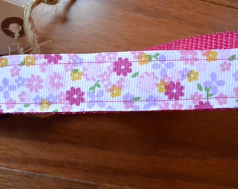 Small Flowers Dog Collar