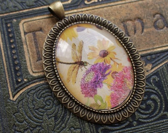 Dragonfly Picture Pendant